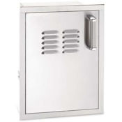 Fire Magic Echelon Flush Single Access Door with Tank Tray & Louvers (Right or Left Swing)