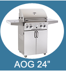 24 Inch Stand Alone American Outdoor Grills