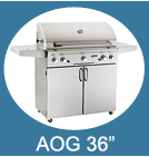 36 Inch Stand Alone American Outdoor Grills